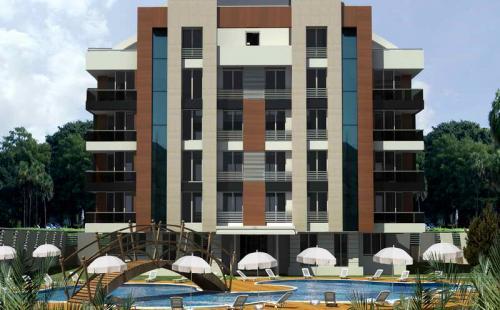 Новые квартиры в строящемся комплексе, Анталья, Турция